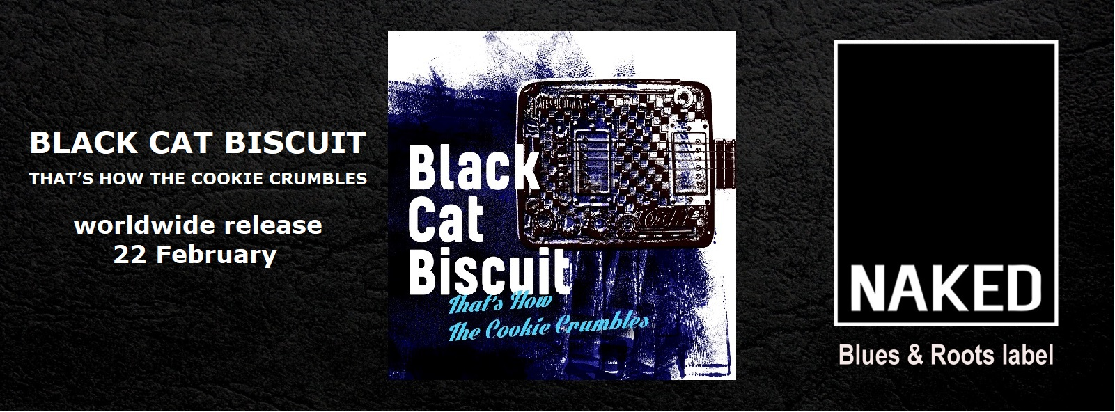 Black Cat Biscuit – That's How The Cookie Crumbles